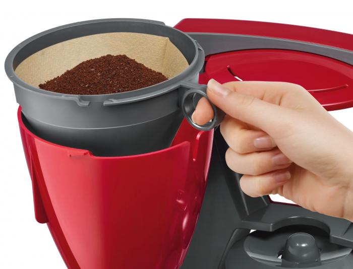 Bosch TKA6A044 1200W piros filteres kávéfőző