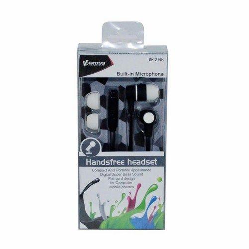 Vakoss SK-214K sztereó fekete mikrofonos fülhallgató (Headset) 50517cabd5