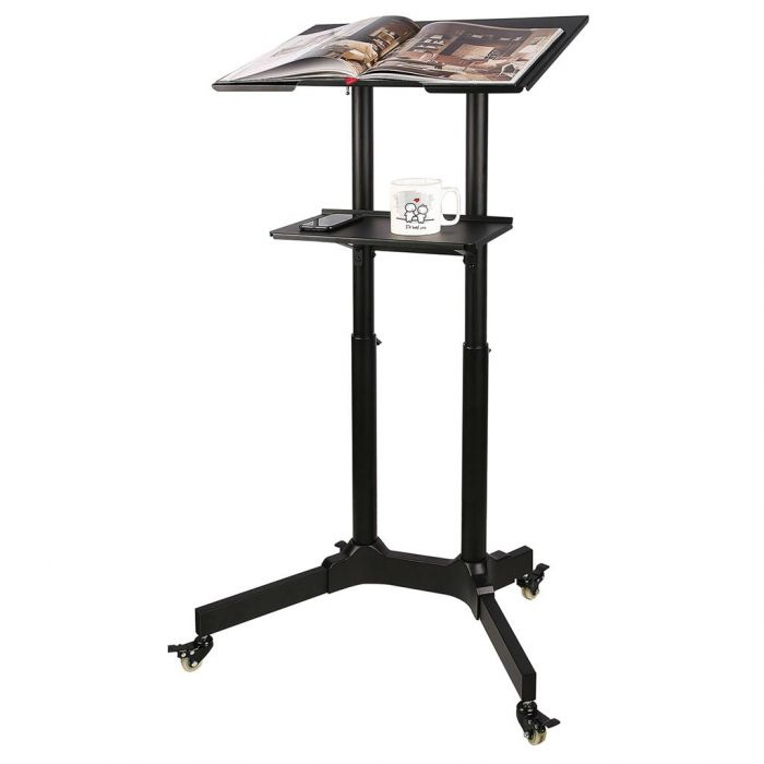 ART Trolley on wheels work station for notebook projector S-10B 6d8b88c9f8
