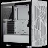 Corsair 275R Airflow Mid Tower ATX, TG fehér gamer számítógépház