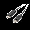 Lanberg Display Port apa - HDMI 5m fekete átalakító kábel