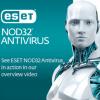 ESET NOD32 Antivírus hosszabbítás HUN 4 Felhasználó 2 év online vírusirtó szoftver