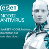 ESET NOD32 Antivírus Tanár-Diák HUN 4 Felhasználó 2 év online vírusirtó szoftver