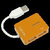 LOGILINK USB 2.0 HUB ''smile'' narancssárga