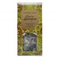 Vintage Teas 20x2,5 g piramis filteres citromfű ízű zöld tea