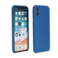 Forcell Silicon Huawei P smart (2019) kék szilikon hátlap tok