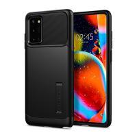 Spigen Slim Armor Samsung Galaxy Note 20 fekete szilikon hátlap tok