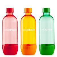 SodaStream Jet TrioPack 3 x 1L narancs/piros/zöld palack