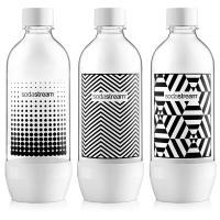 SodaStream Fuse 3 x 1L fekete/fehér palack
