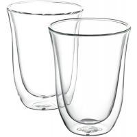 DeLonghi 2db Latte macchiato 220 ml átlátszó üvegpohár