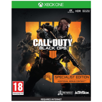 Call of Duty Black Ops 4 Specialist Edition (Xbox One) játékszoftver