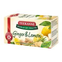 Teekanne World of Fruits gyömbér-citrom 20x1,75g filteres gyümölcs tea