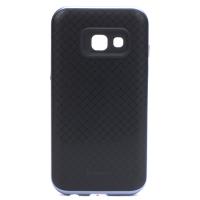 IPAKY Hybrid Samsung Galaxy A3 (2017) Premium ütés és porálló szürke védőtok