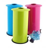 Palackprés 27x14 cm színes műanyag, ásványvizes palackokhoz