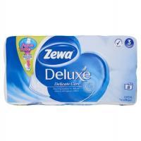 Zewa Deluxe 8 tekercses 3 rétegű fehér toalettpapír