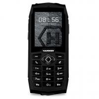 myPhone HAMMER 3 2G Dual SIM víz- és porálló fekete mobiltelefon