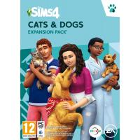 The Sims 4 + Cats & Dogs (EP4) Bundle (PC) játékszoftver