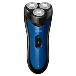 Sencor SMS 4011BL fekete/kék körkéses elektromos borotva