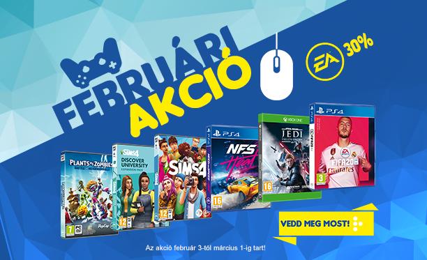 EA februári akció