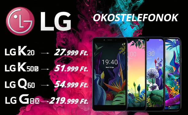LG okotelefonok akcióban