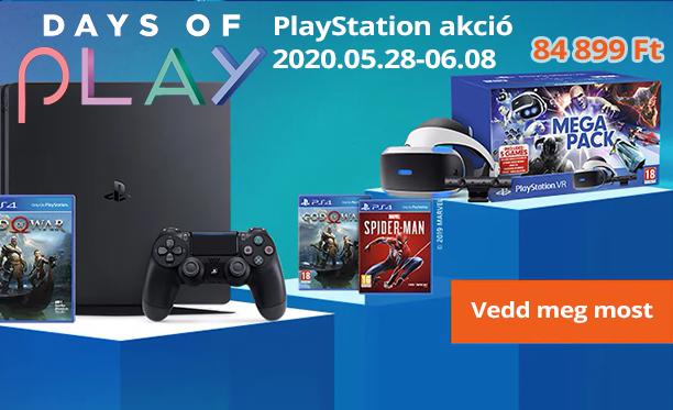 Sony konzol játék akció