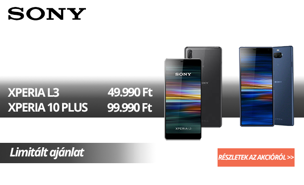 Sony Xperia akció